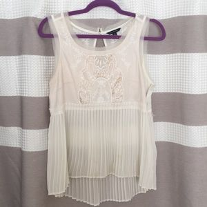 Pleated Tanktop